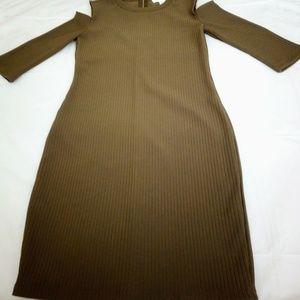 Forever 21 Cold-Shoulder Dress